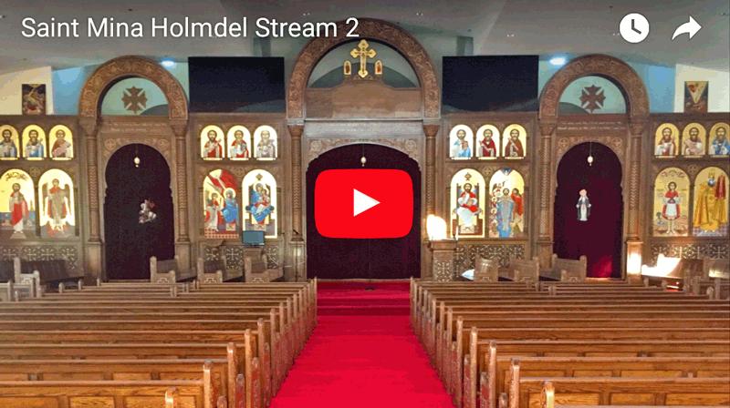 Saint Mina Holmdel Nj Hh Pope Shenouda Iii